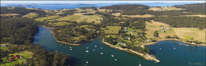 Tasmania Aerial Images by Peter Bellingham Photography