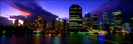 Brisbane Sunset - QLD (PB 00 1845)