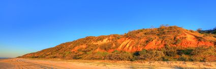 Coloured Sands - Fraser Island - QLD (PB5D 00 51A1239)