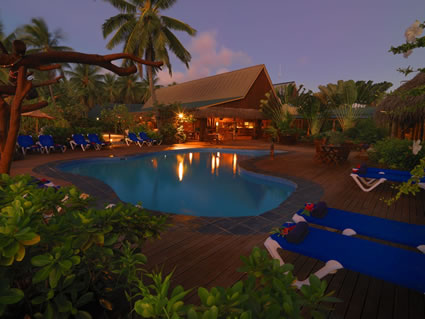 Aitutaki Lagoon Resort Pool 2